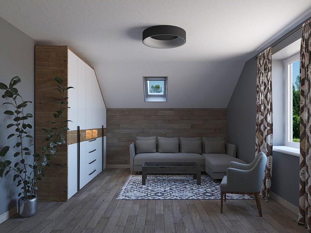 диван у кімнаті проект2